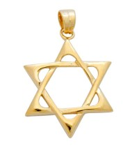 Classic Gold Filled Star of David Pendant
