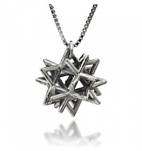 Secret Of Merkabah Kabbalah Necklace