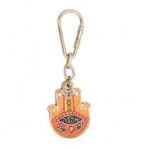 Love Hamsa Hand Key Chain