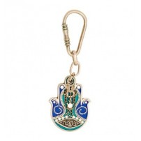Blessing Hamsa Hand Key Chain