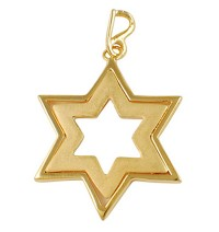 Star of David Pendant - Gold Filled