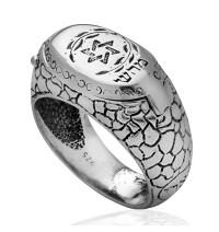 Star of David Kabbalah Ring for Health and Protection